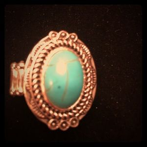 Jewelry - Women's ring. Beautiful turquoise.